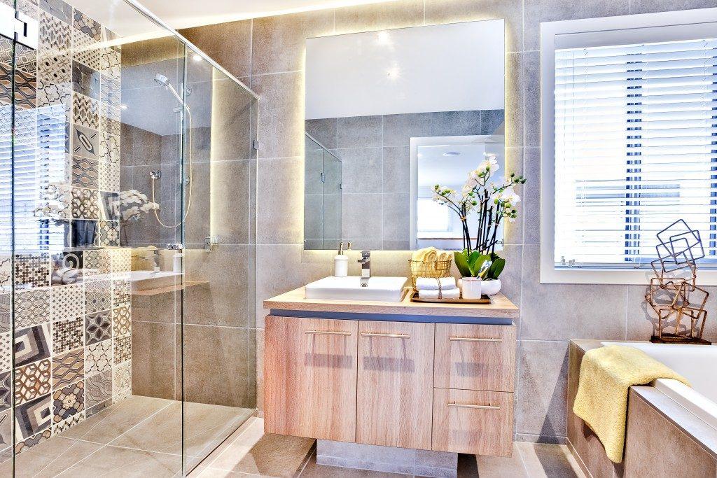bathroom in modern bathroom design