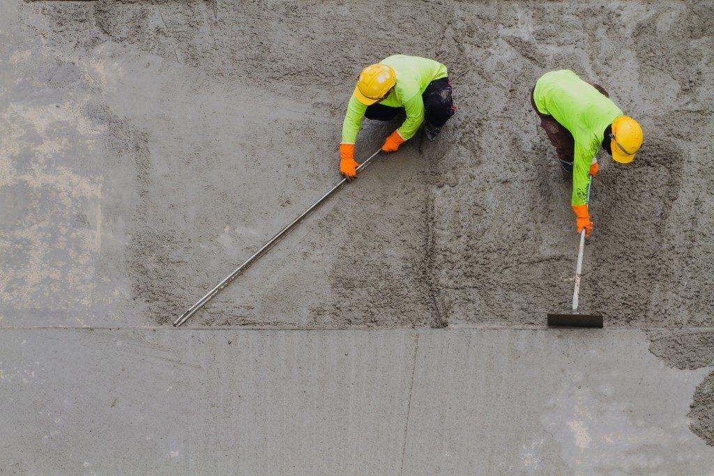 fixing concrete driveway