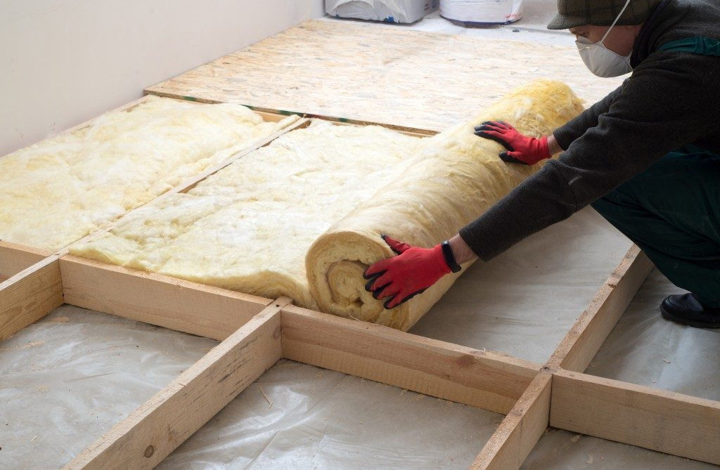 Adding insulation in the attic