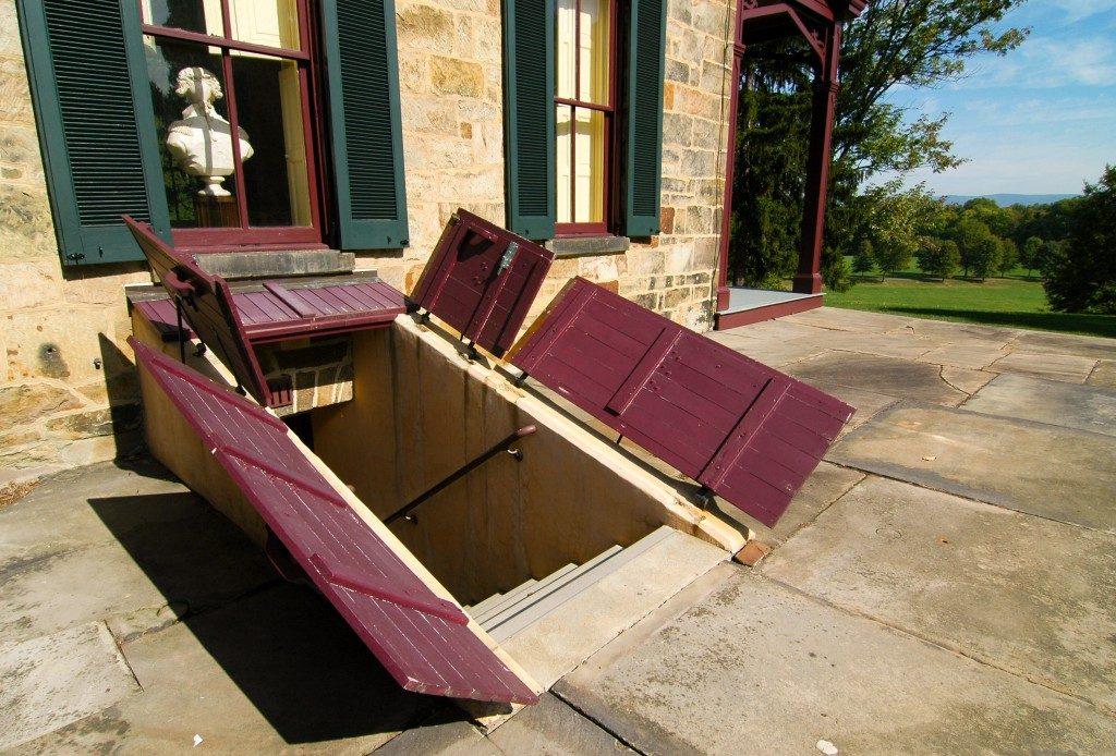 Friendship Hill National Historic Site basement doors
