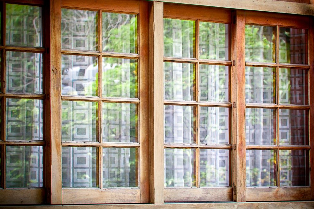Sliding window and room divider