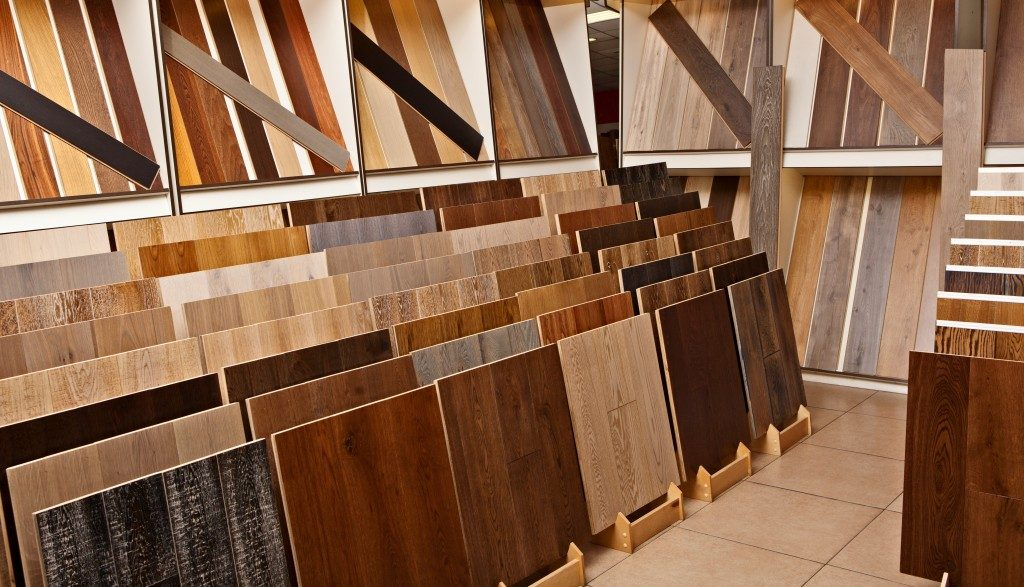 different kinds of wooden tiles