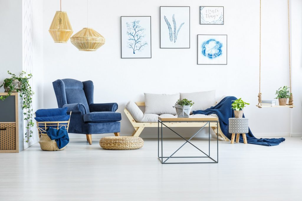 home's living room area