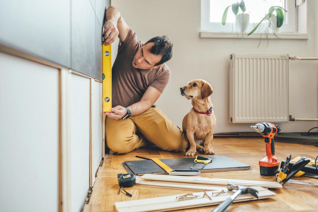 home DIY renovation