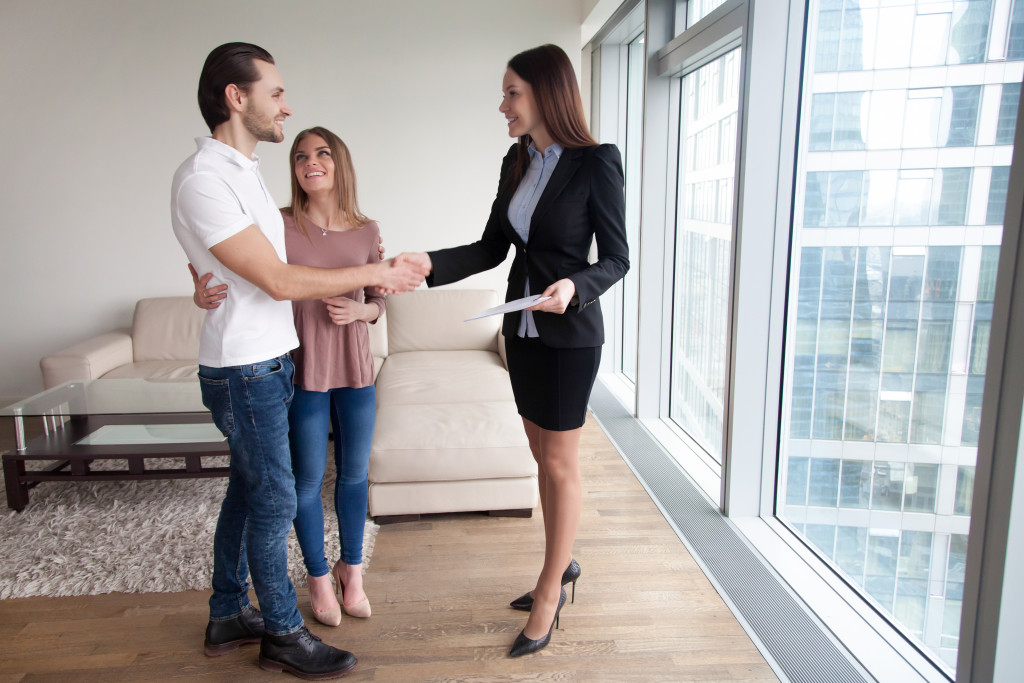 open house real estate agent
